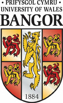 Logo of the University of Wales at Bangor, where Lew took his Junior Year Abroad.